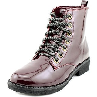 Dirty Laundry Stefan Women Round Toe Synthetic Burgundy Ankle Boot