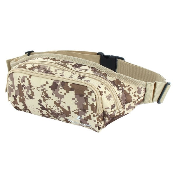 Wellhouse Authorized Running Holder Adjustable Belt Sports Waist Bag Camouflage