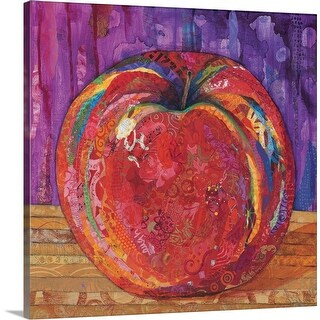 """Apple"" Canvas Wall Art"