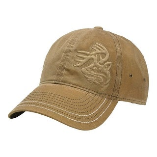 Legendary Whitetails Men's Gamekeeper Waxed Cotton Cap - Barley - One Size