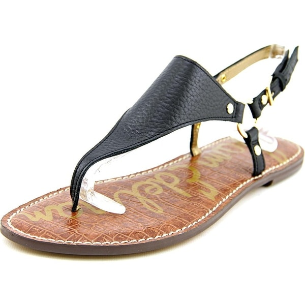 bd8d8490f0771 Shop Sam Edelman Greta Open Toe Leather Thong Sandal - Free Shipping ...