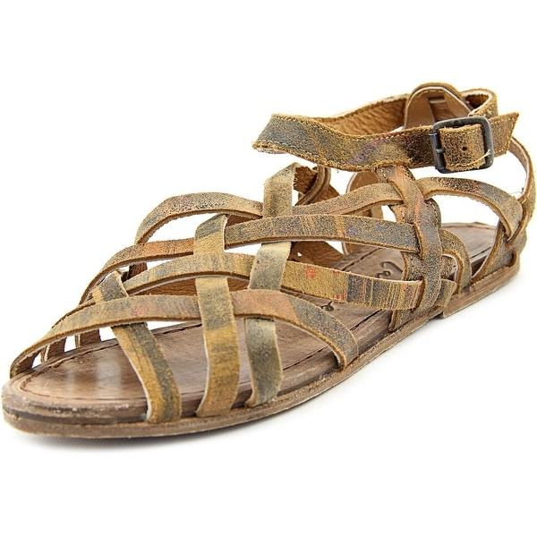 Matisse Tetris Women Open Toe Leather Gladiator Sandal