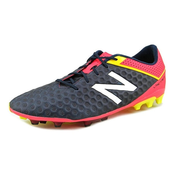 New Balance Visaro Pro Ag Men Round Toe Synthetic Blue Cleats