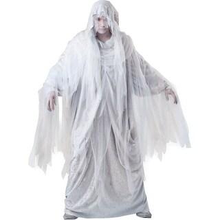 Mens Ghost Spirit Gothic Horror Halloween Costume