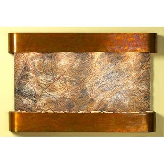Adagio Sunrise Springs With Brown Rainforest Marble in Rustic Copper Finish and