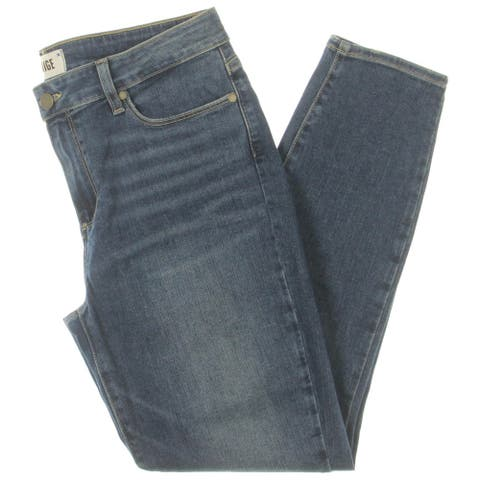 Paige Womens Verdugo Joey Ankle Jeans Denim Tapered