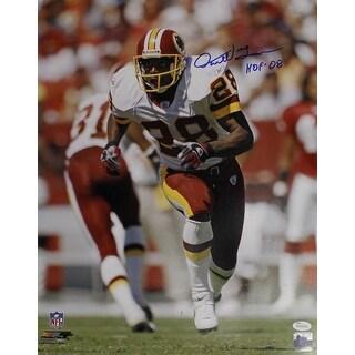 Darrell Green Autographed Washington Redskins 16x20 Photo HOF JSA