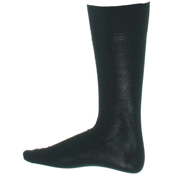 Perry Ellis Mens Portfolio Dress Socks Textured Solid - 7-12