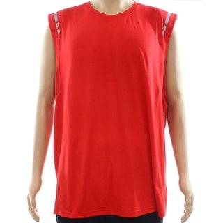 Ideology NEW Red Mens Size Small S Sleeveless Reflective Performance Shirts