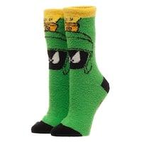Looney Tunes Marvin The Martian Fuzzy Socks