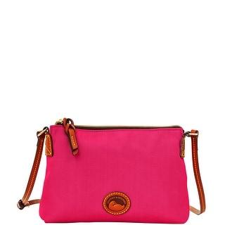 Dooney & Bourke Nylon Crossbody Pouchette (Introduced by Dooney & Bourke at $69 in Apr 2014) - Hot Pink