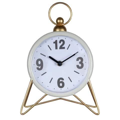 Stratton Home Decor Steven Table Top Clock