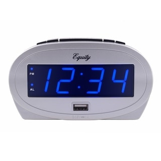 "Link to Equity by La Crosse 30025 0.9"" LED alarm clock with USB charge port Similar Items in Decorative Accessories"