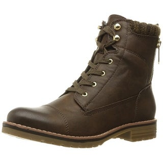 Tommy Hilfiger Womens Omar2 Closed Toe Ankle Combat Boots (Option: Combat Boots)