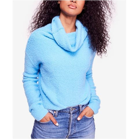 Free People Womens Cowl Pullover Sweater
