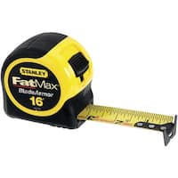 "Stanley 33-716 Fat Max Tape Rule With Mylar Coated Blade, 1-1/4"" x 16'"