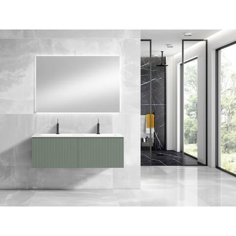"Lucena Bath 48"" Bari Vanity With Ceramic Sink"