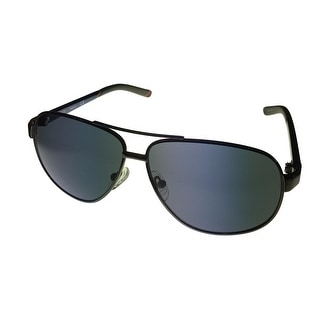 Timberland Mens Black Gunmetal, Metal Aviator Sunglass TB7095 8A - Medium