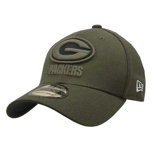 413add0306d8aa Shop New Era 2018 NFL Green Bay Packers Salute to Service Baseball Cap 920  Military - Free Shipping On Orders Over $45 - Overstock - 23577492
