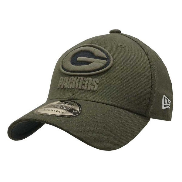 65b141b2d New Era 2018 NFL Green Bay Packers Salute to Service Baseball Cap 920  Military