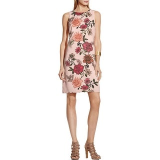 Vince Camuto Womens Casual Dress Floral Print Sleeveless