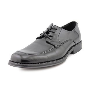Kenneth Cole Reaction Sim-Plicity Men  Apron Toe Synthetic Black Oxford