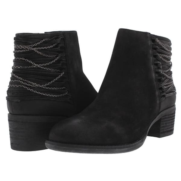 ec5d48d5545 Shop Steve Madden Womens Chily Ankle Boots Chain Chain Detail - Free ...