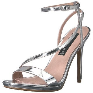 STEVEN by Steve Madden Womens Rees Open Toe Special Occasion Ankle Strap Sand...