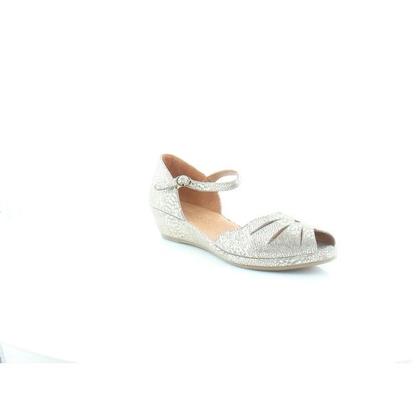 Gentle Souls Lily Moon Women's Sandals & Flip Flops Gold - 8