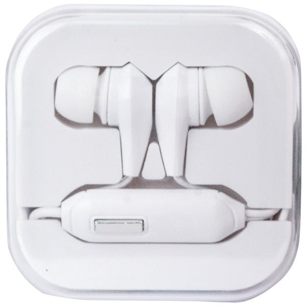 Travelocity Tvor-Sthf-Bw Stereo Earbuds With Microphone