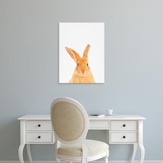 Easy Art Prints Tai Prints's 'Rabbit' Premium Canvas Art