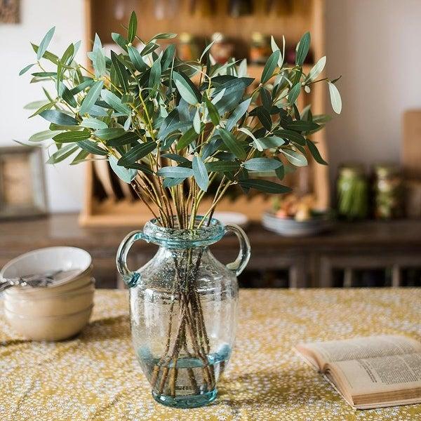 RusticReach Artificial Olive Leaf Stem