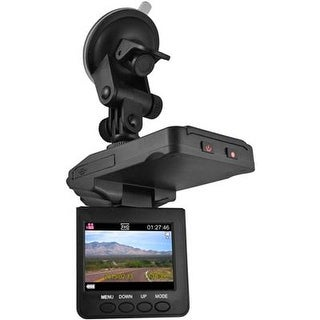 "Ematic - Dvr120 - 2.5"" Hd Dashcam W Night Vision"