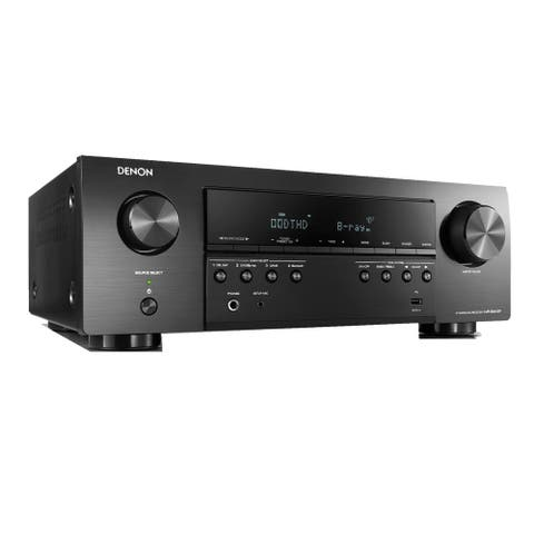 "Denon AVR-S540BT 5.2-Channel A/V Receiver - 17.1"" x 5.4"" x 12.6"""