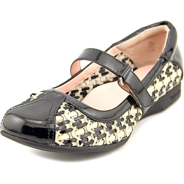 Taryn Rose True Round Toe Leather Mary Janes