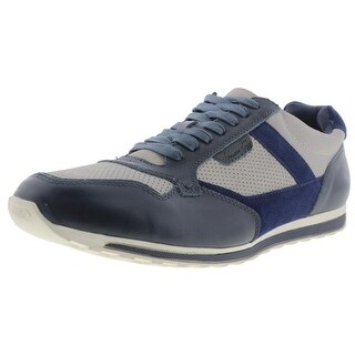 Kenneth Cole New York Mens Can't Miss It Mixed media Colorblock Fashion Sneakers
