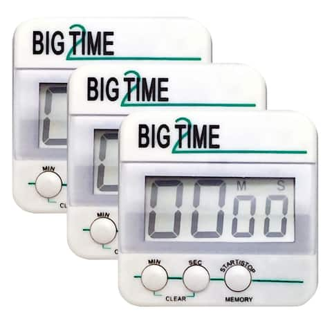 Big Time Too Up/Down Timer, Pack of 3