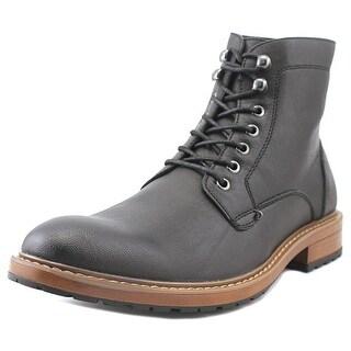 Perry Ellis Gunner Black Boots