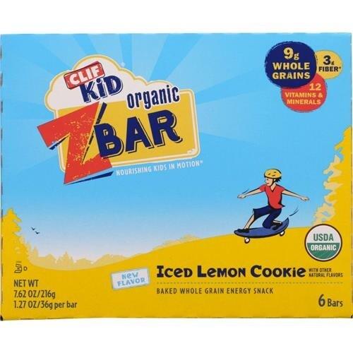 Clif Bar - Clif Kid Z Bars Iced Lemon Cookies ( 12 - 7.62 OZ)