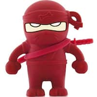 Bone Collection D10011R 8 GB Ninja USB Drive, Red