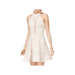 B. Darlin Womens Juniors Party Dress Sleeveless Lace (2 options available)