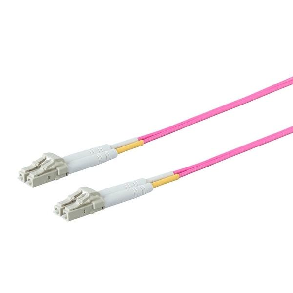 Entegrade OM4 Fiber Optic Cable LC/LC Multi Mode Duplex - 2 Meter (50/125 Type)