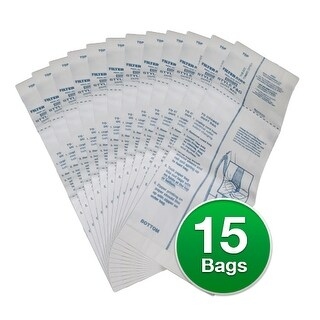 Sanitaire 15791 / 63250 / 63250A / F and G Bags Genuine Vacuum Bags - 3 Pack