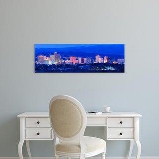 Easy Art Prints Panoramic Images's 'Reno NV' Premium Canvas Art