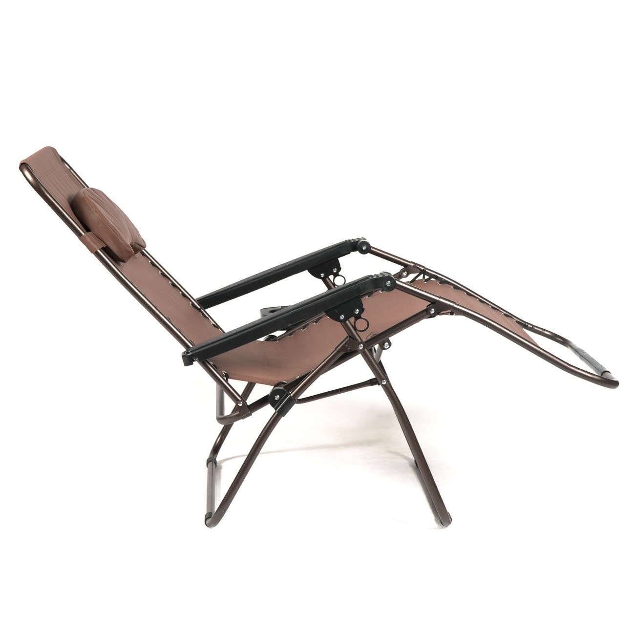 Zero Gravity Xlarge Chair Adjustable Lounge Padded W Drink