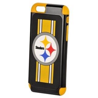 Pittsburgh Steelers Dual Hybrid iPhone 6 Rugged Case