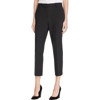 Theory Womens Treeca Tuxedo Pant Classic Fit Cropped