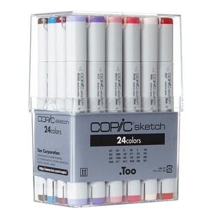 Copic - COPIC Sketch Marker Set - 6-Color Set - Blending Basics