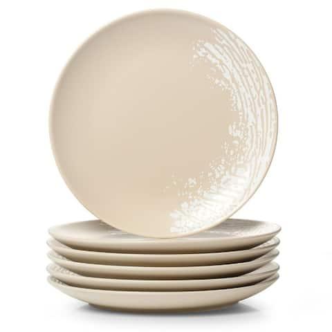 """DOWAN Porcelain Matte Print 8"""" Dinner Plate"""