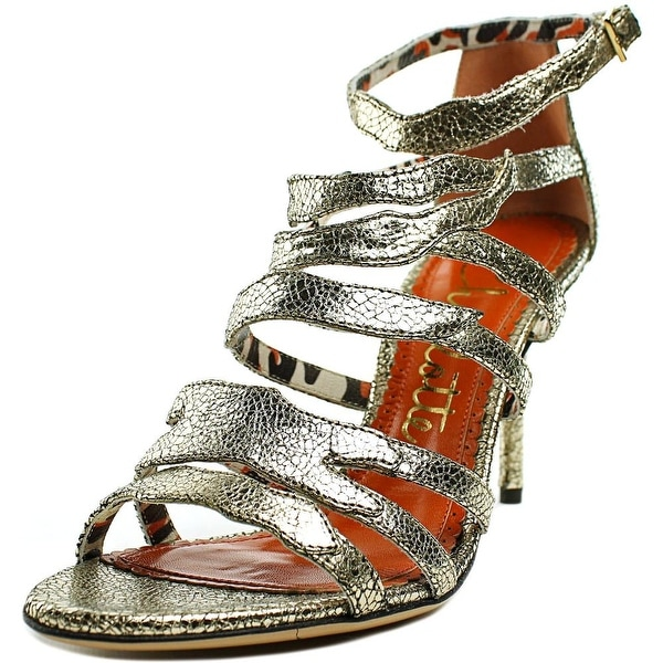 Charlotte Olympia Dazzling Women Sentimental Silver Sandals